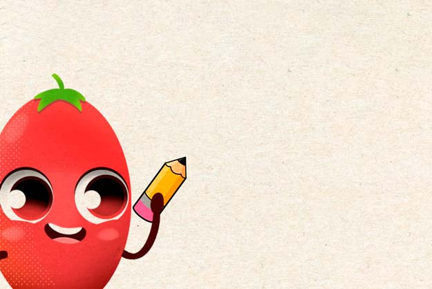 Tomate Vero - Desenhos para Colorir
