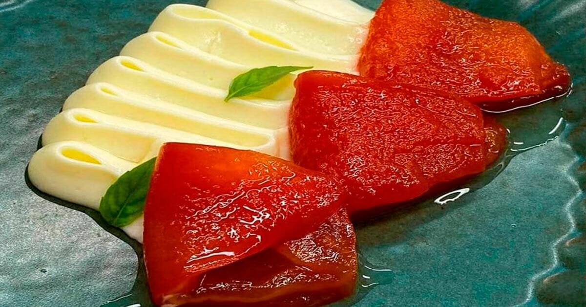 """Featured image for """"Doce de tomate com creme de queijo"""""""